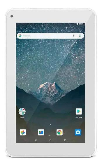 "Tablet Multilaser M7S Go NB31 7"" 16GB branco com memória RAM 1GB"