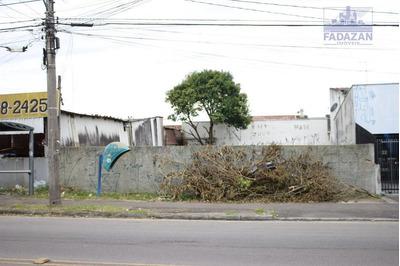 Terreno Para Alugar, 264 M² Por R$ 1.500/mês - Capão Da Imbuia - Curitiba/pr - Te0023