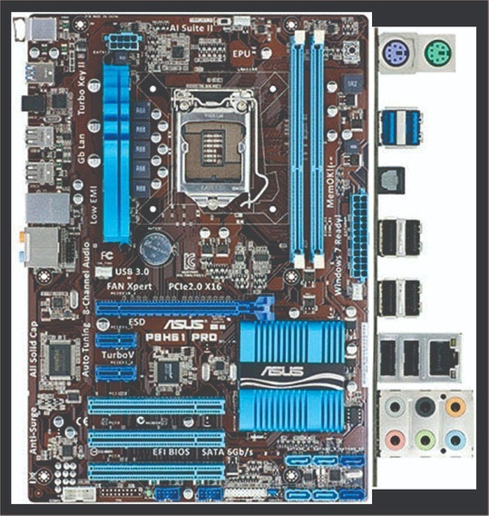 Kit - Mobo Asus, I3-2120, 8gb Ram, Vga Gt 430 E Ssd 120gb