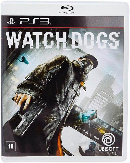 Watch Dogs Ps3 Mídia Física Novo Lacrado
