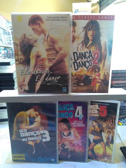 Ela Dança Eu Danço 1 2 3 4 E 5 Dvd Original Usado