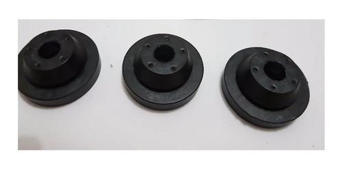 Imagem 1 de 2 de Coxim Borracha Caixa Filtro Ar E Torq ( Kit 3 Peças )