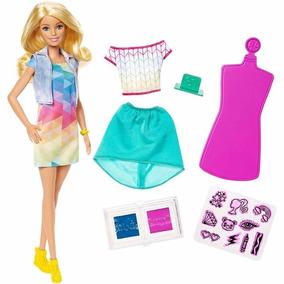 Foto 4 - Boneca Barbie Criações Com Carimbos - Frp05 Mattel