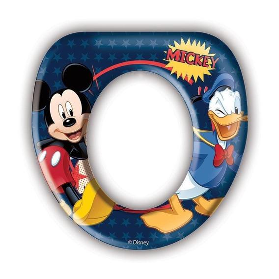 Adaptador Infantil Almofadado Par Assento Sanitário - Mickey