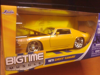-camaro Chevy Año 1971 Marca Jada Bigtime Musle Escala 1/24