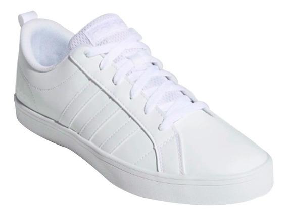 Tenis adidas Vs Pace Caballero Blanco Con Negro 100% Originales Cómodos Casuales