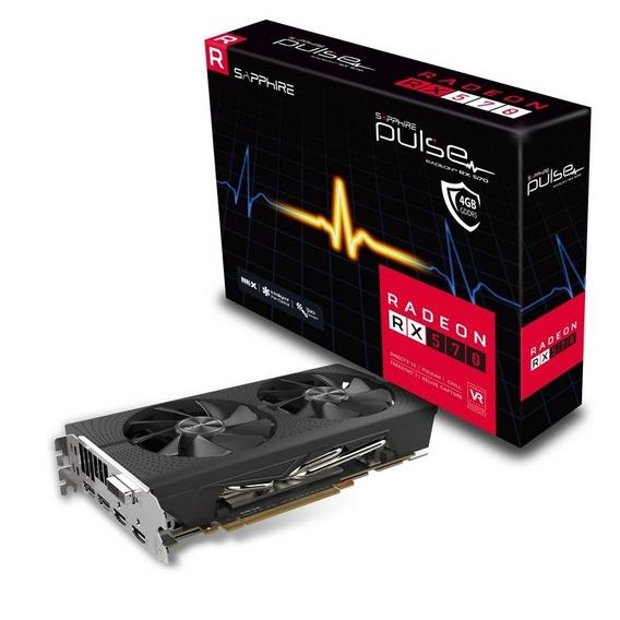 Placa De Video Amd Radeon Rx 570 4gb Sapphire Pulse Tienda