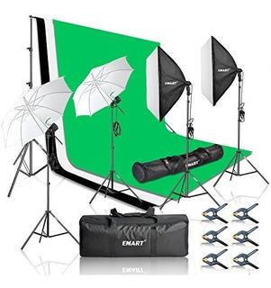 Emart Fotografia Studio Kit Luz 8,5 10 Pie Soporte