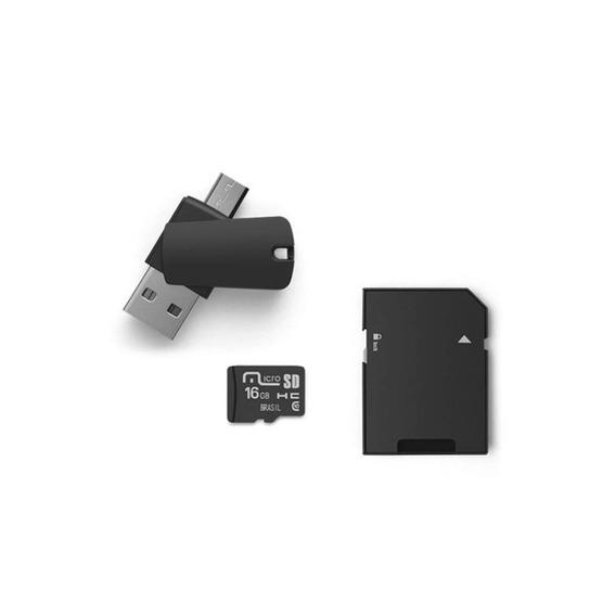 Kit Dual Drive Otg 16 Gb Multilaser - Mc131