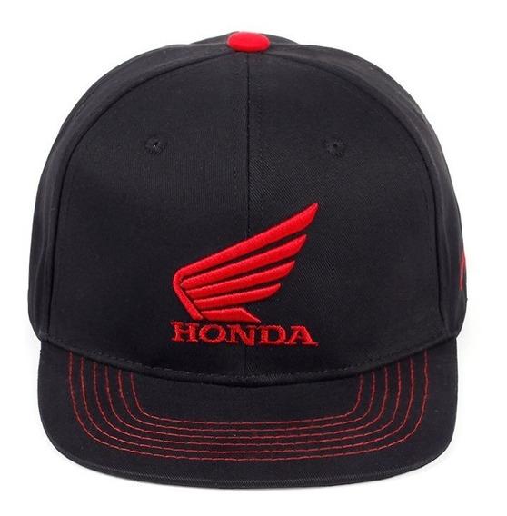 Boné Honda Motocross Aba Reta