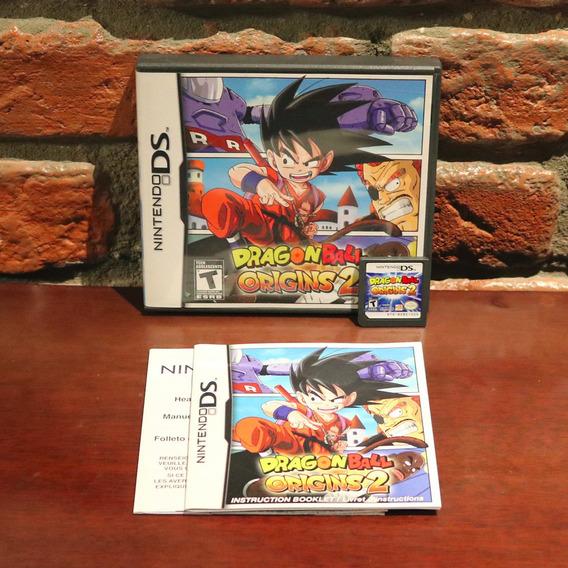 Dragon Ball Origins 2 Raro Original Completo Americano Nintendo Ds 3ds