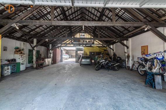Galpão À Venda, 473 M² Por R$ 2.000.000,00 - Rebouças - Curitiba/pr - Ga0012