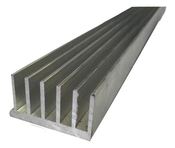 8 Pç Dissipador Calor Aluminio 4,4cm Largura C/ 50cm