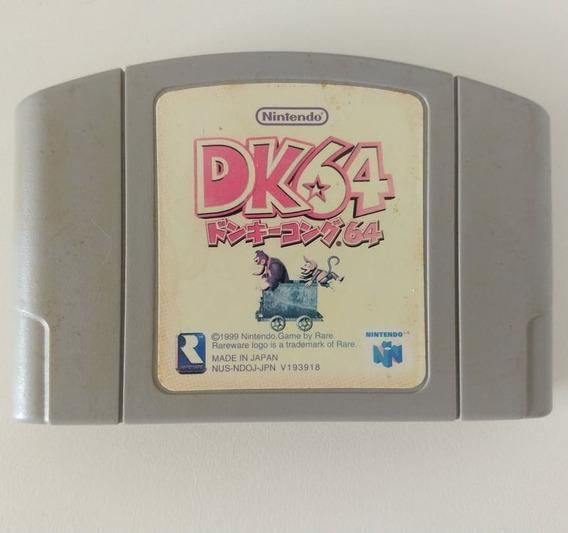 Donkey Kong 64 Dk64 Nintendo 64 N64 Original Japonês