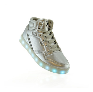 Zapatillas Botitas Niñas Luz Led + Usb 4011-60 Luminares