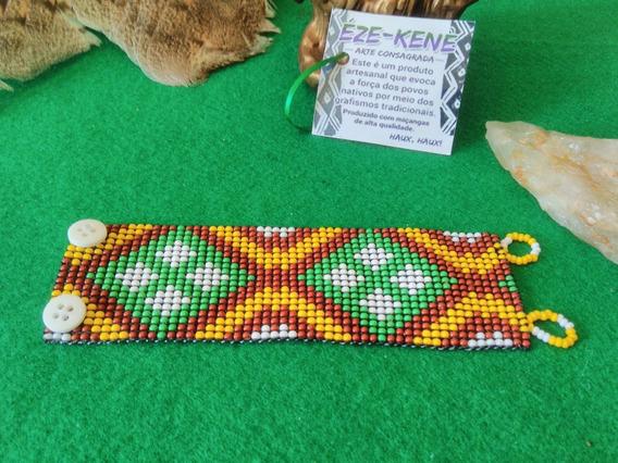 Pulseira Miçangas Indígena Xamânica Huni Kuin Frete Grátis