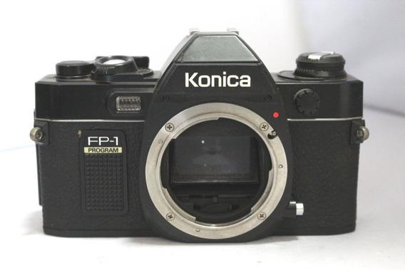 Câmera Fotografica Konica Fp-1 Retro Coleção Leia O Anuncio