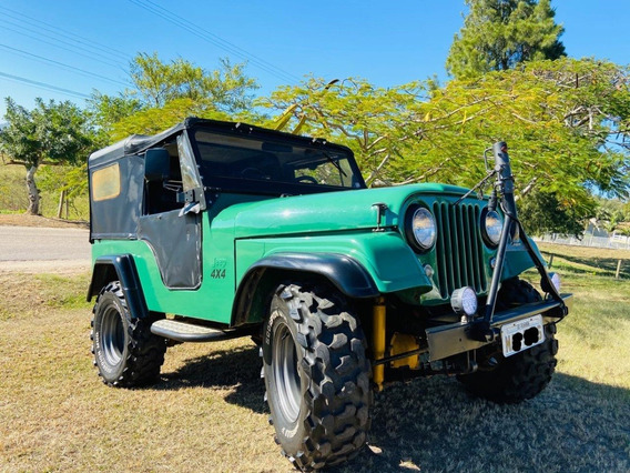 Jeep Willys 1962 4x4 Reduzido
