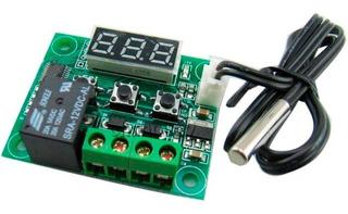 Termostato Digital Con Relé W1209