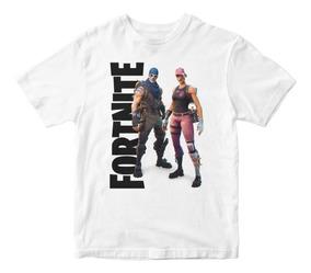 Remera Niño Fortnite Battle Royale Varios Diseños Personajes