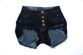 Short Jeans Feminino Plus Size 44/54 Promoção Imperdivel