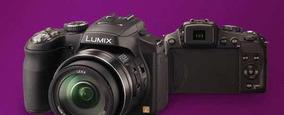 Câmera Digital Lumix Panasonic Dmclz20lb-k + Recarregador