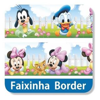 11 Adesivos Faixa Border Disney Baby Papel Parede