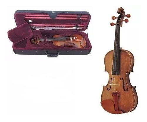 Violin Stradella 4/4 Estuche Arco Y Resina Envio Mv1414
