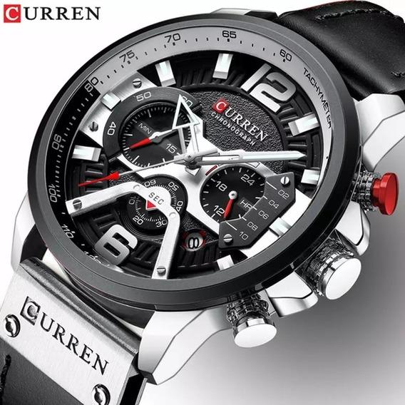 Promoção Relógio De Luxo Curren Original Cronógrafo