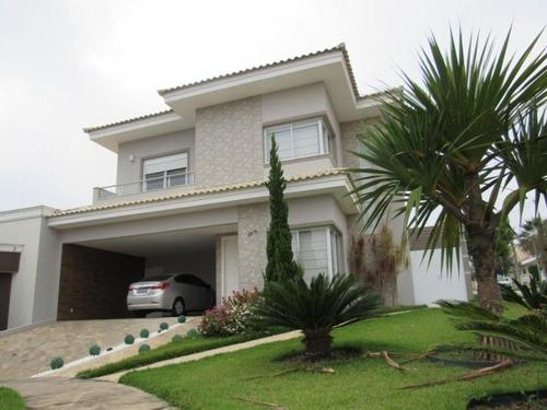Espetacular Sobrado Com 3 Dormitórios À Venda, 286 M² Por R$ 1.250.000 - Condomínio Ibiti Royal Park - Sorocaba/sp - So0150 - 67640878
