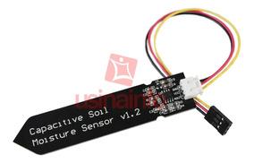 Sensor De Umidade De Solo Capacitivo Para Arduino + Jumper