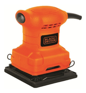 Lijadora Orbital 1/4 De Hoja 200w Bs200 Black And Decker Env