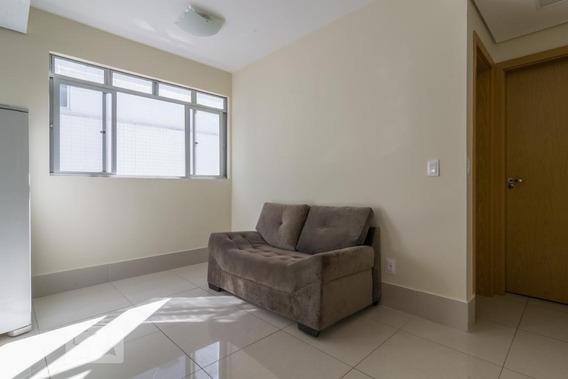 Apartamento Para Aluguel - Coração De Jesus, 1 Quarto, 128 - 893036864