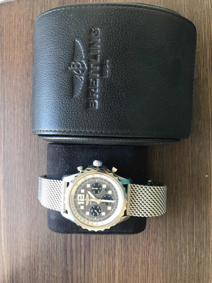 Relogio Breitling, Caixa 46 Mm, Fecho Deploye, Cronograph