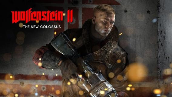 Wolfenstein 2 The New Colossus Xbox One Física Lacrado