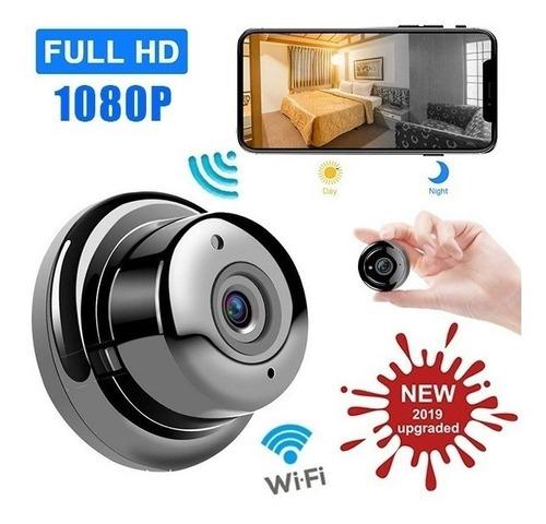 Mini Sem Fio Wifi Hd 1080 P Câmera Ip Visão Noturna Para Seg