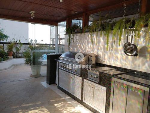 Imagem 1 de 30 de Apartamento Com 4 Dormitórios À Venda, 725 M² Por R$ 5.900.000,00 - Pacaembu - São Paulo/sp - Ap0095