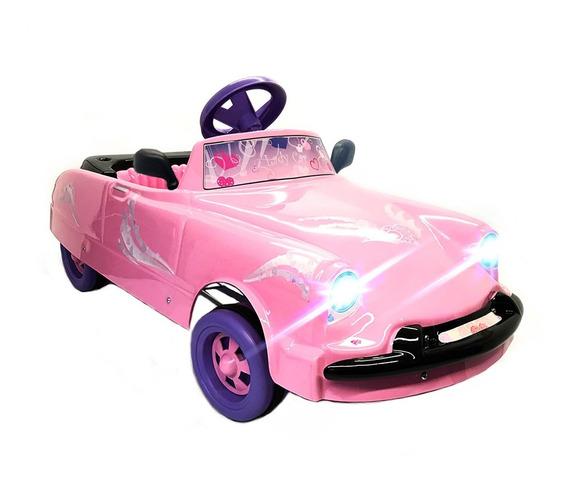 Karting A Pedal Auto Infantil Tipo Citroen Rosa Para Nena