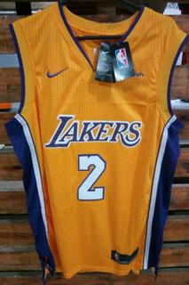 Camiseta Basquet Nba Nike Lonzo Ball #2 Los Angeles Lakers
