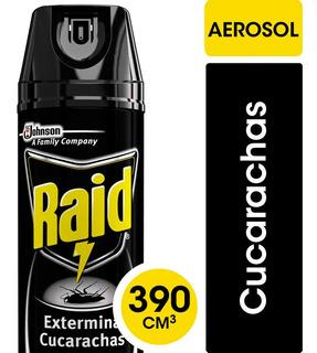 Raid Para Cucarachas X 360 Ml Aerosol Exterminador