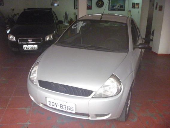 Ford Ka 1.0 Zetec Rocan 2007 Prata