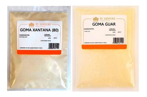 Imagen 1 de 6 de Goma Guar Y Goma Xantana Granel 500 Gramos C/u