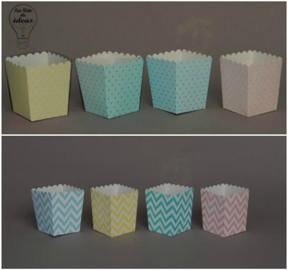 Caja Para Pochoclos/ Golosinas X 30 Unidades