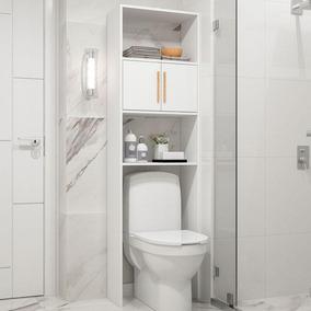 Armário Para Banheiro Bbn 09 - Brv - Branco