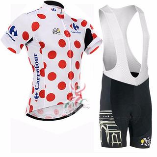 Conjunto Malla Y Tricota Tour De Francia.-