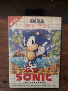 ** Sonic The Hedgehog Para Tu Sega Master **