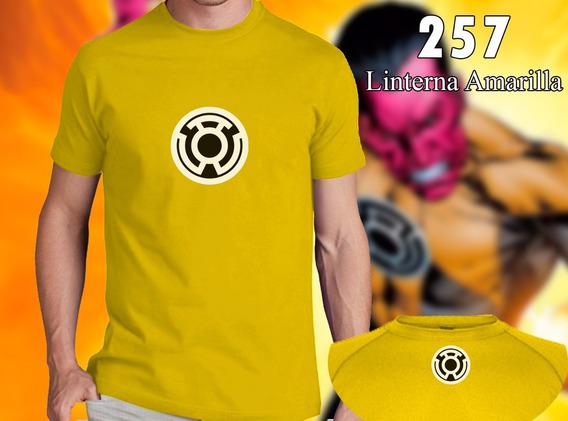 Remera De Comics - Linterna Amarilla - Dc Comics