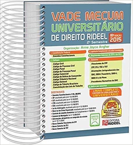 Vade Mecum Universitario De Direito 18ª Edição (2015)