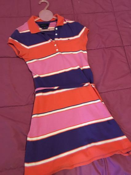 Vestido Para Niña Marca Tommy Hilfiger