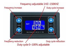 Gerador Pwm Freqüência Ajustável 1hz-150 Khz 3.3v - 30v